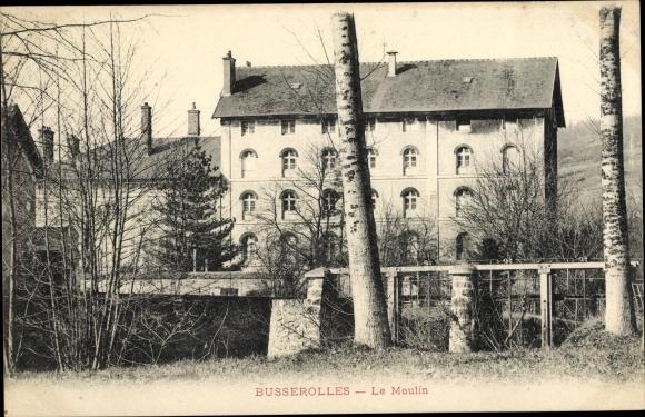 Ak Busserolles Seine-et-Marne, Le Moulin 0