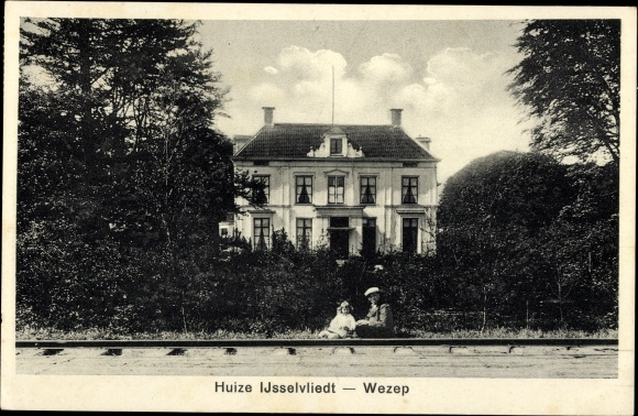 Ak Wezep Gelderland Niederlande, Huize Ijsselvliedt 0