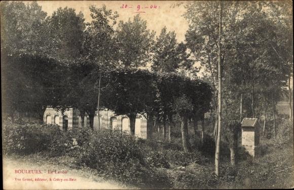 Ak Bouleurs Seine-et-Marne, le Lavoir 0
