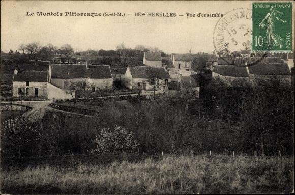 Ak Bescherelles Seine-et-Marne, Vue d´Ensemble 0