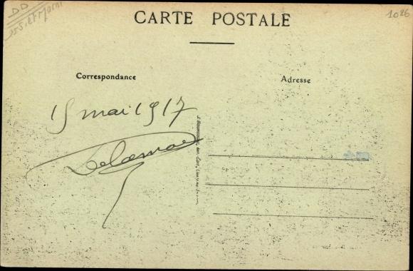 Ak Boissy-le-Châtel Seine et Marne, Bureau de Postes 1
