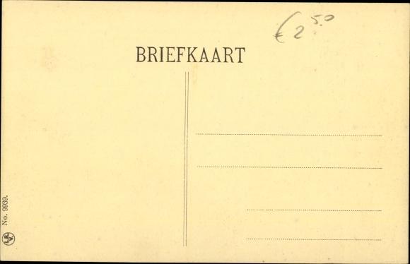 Ak Drenthe Niederlande, Mann und Frau in Tracht an der Kochstelle 1