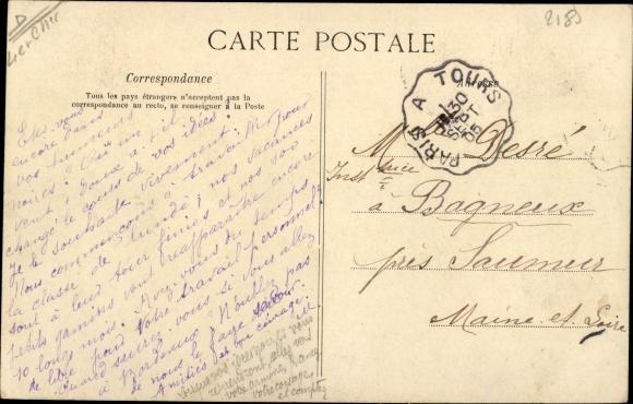 Ak Fréteval Loir et Cher, Le Lavoir 1
