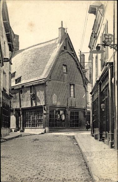 Ak Saint Aignan Loir et Cher, Maison du XVe Siècle 0