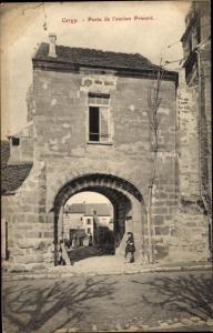 Ak Cergy Val d´Oise, Porte de l´Ancien Prieuré
