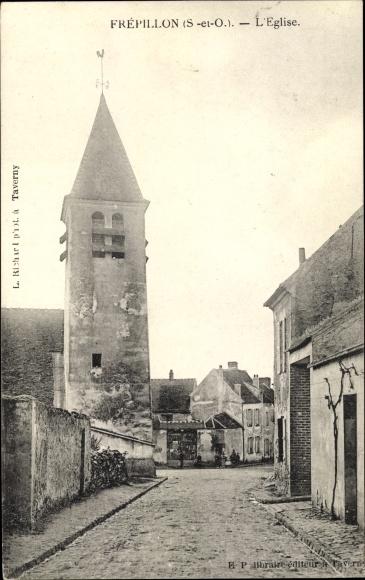 Ak Frepillon Val-d´Oise, Église 0