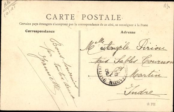 Ak Chevilly Loiret, Chateau, nord 1