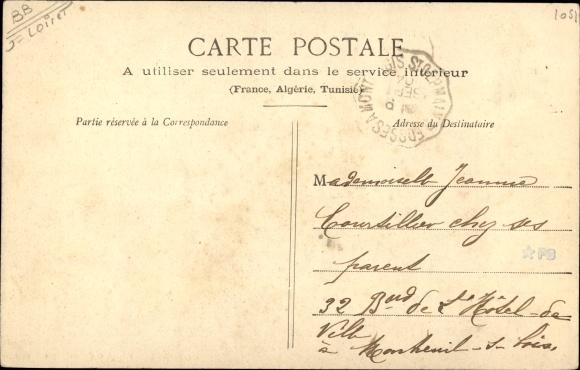 Ak Montcresson Loiret, Pont et Canal 1