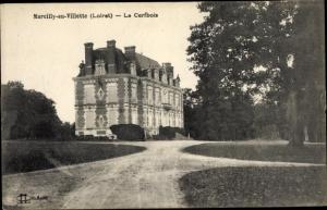 Ak Marcilly-en-Villette Loiret, Le Cerfbois