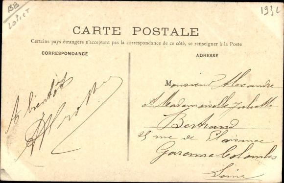 Ak Mignerette Loiret, Le Chateau 1