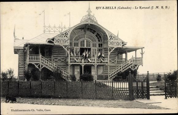 Ak Riva Bella Ouistreham Calvados, Le Kursaal 0