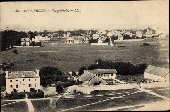 Ak Riva Bella Calvados, Vue Générale 0