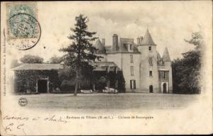 Ak Vihiers Maine et Loire, Chateau de Beaurepaire