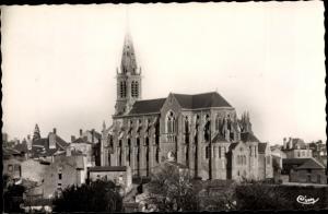 Ak Vihiers Maine et Loire, L'Eglise Saint Nicolas