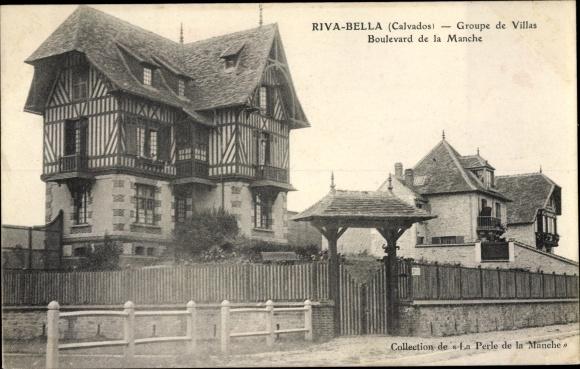 Ak Riva Bella Calvados, les Villas, Boulevard de la Manche 0