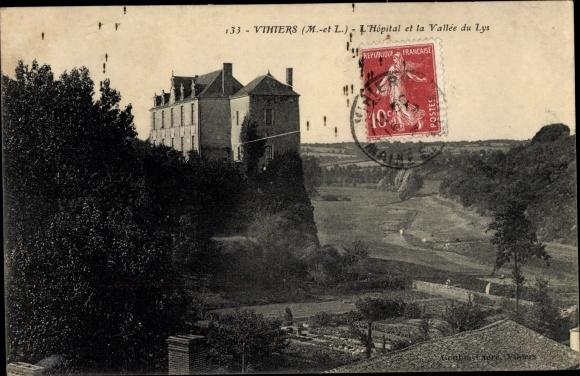 Ak Vihiers Maine et Loire, L'Hopital, Vallee du Lys 0
