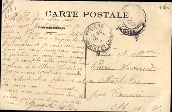 Ak Vihiers Maine et Loire, L'Hopital, Vallee du Lys 1