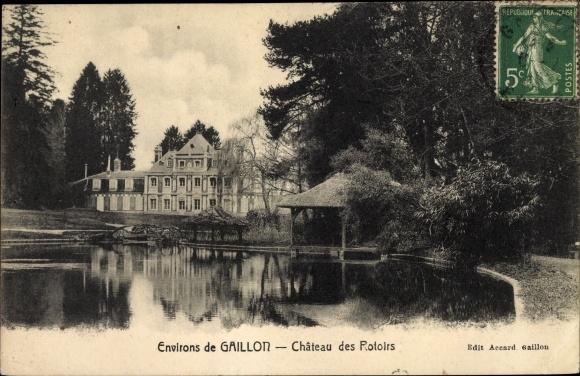 Ak Gaillon Eure, Château des Rotoirs 0