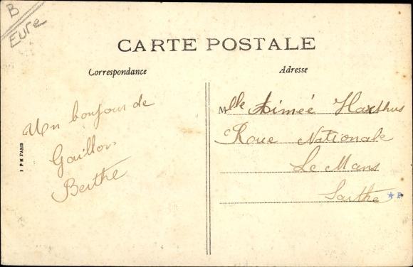 Ak Gaillon Eure, Château des Rotoirs 1