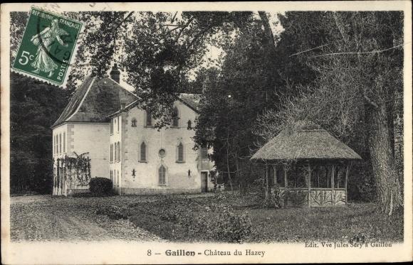 Ak Gaillon Eure, Château de Hazey 0