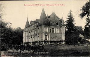 Ak Gaillon Eure, Château du Parc