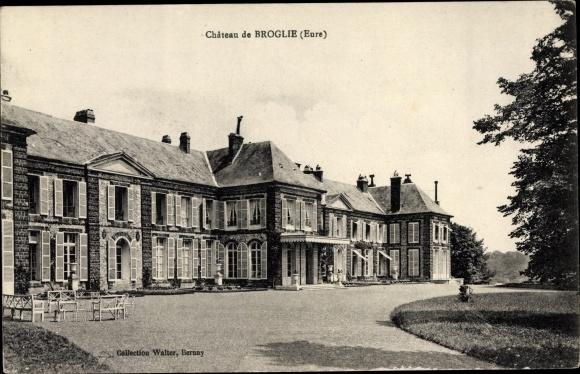 Ak Broglie Eure, Château 0