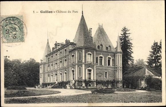 Ak Gaillon Eure, Château du Parc 0