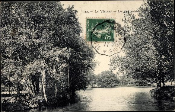 Ak Le Vésinet Yvelines, Lac de Croissy 0