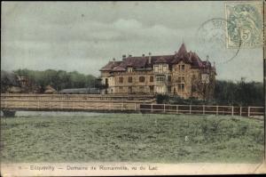 Ak Ecquevilly Yvelines, Domainne de Romainville