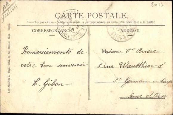 Ak Ecquevilly Yvelines, Domainne de Romainville 1