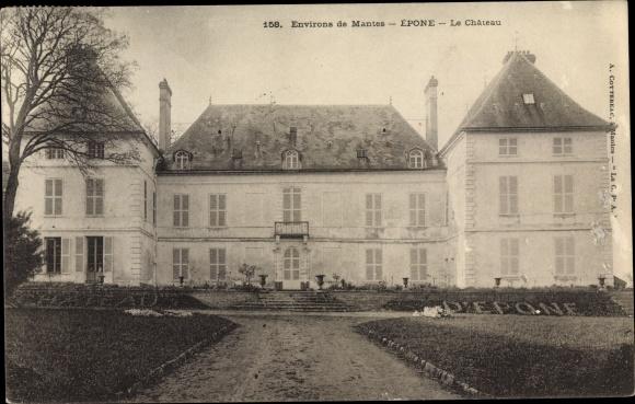 Ak Epone Yvelines, Le Château 0