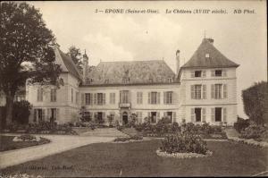 Ak Epone Yvelines, Le Château