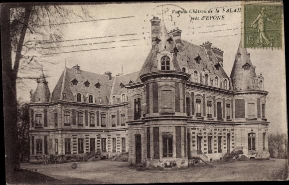 Ak Epone Yvelines, Château de la Falaise 0