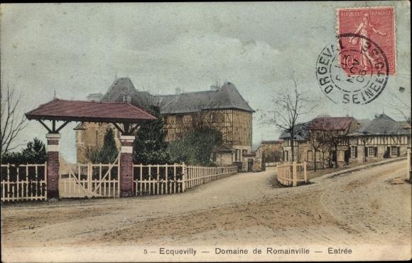 Ak Ecquevilly Yvelines, Domaine de Romainville 0