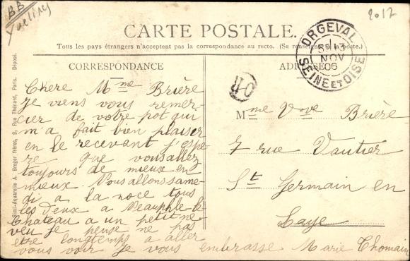 Ak Ecquevilly Yvelines, Domaine de Romainville 1