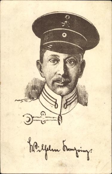 Künstler Ak Kronprinz Wilhelm von Preußen, Husarenuniform 0