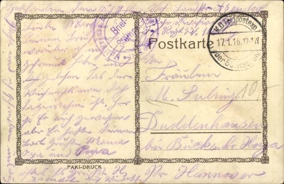 Künstler Ak Kronprinz Wilhelm von Preußen, Husarenuniform 1