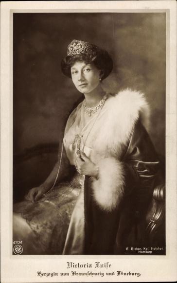 Ak Prinzessin Victoria Luise von Preußen, Portrait 0