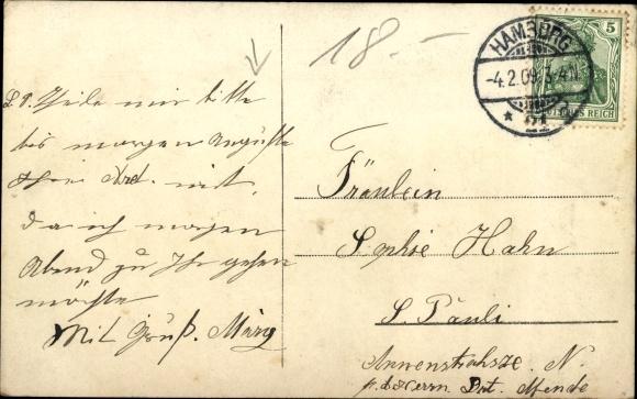 Ak Hohenzollern Glück, Kaiserin Auguste Viktoria, Kaiser Wilhelm II. Kronprinz Wilhelm von Preußen 1