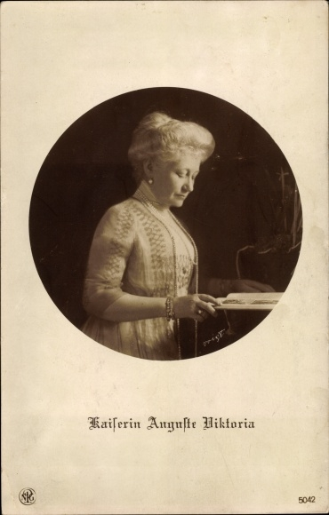 Ak Kaiserin Auguste Viktoria, Portrait, NPG 5042 0