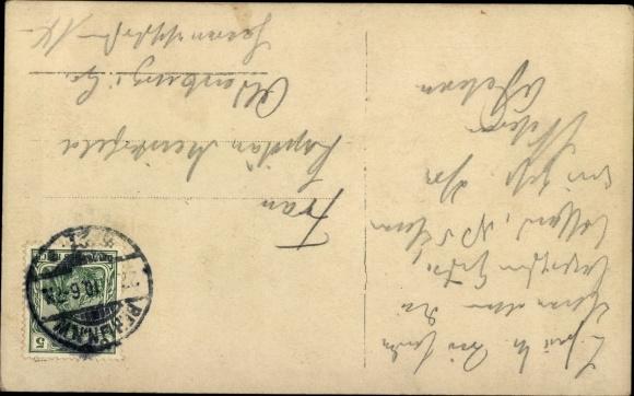 Ak Söhne des preußischen Kronprinzenpaares, Wilhelm, Louis Ferdinand, Liersch 2335, Windhund 1