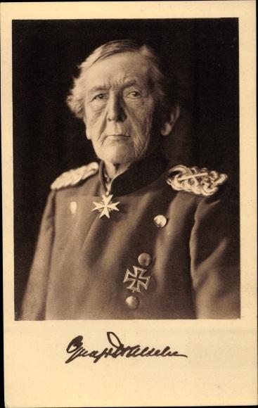 Ak Preußischer Generalfeldmarschall Helmuth Karl Bernhard Graf von Moltke 0
