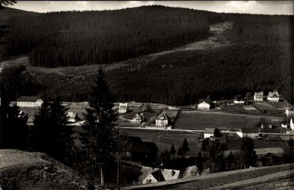 Ak Oberrittersgrün Breitenbrunn, Fichtelberggebiet 0