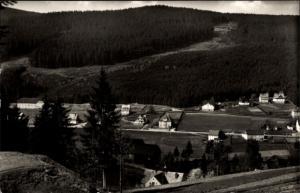 Ak Oberrittersgrün Breitenbrunn, Fichtelberggebiet
