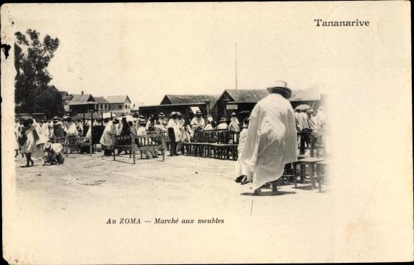 Ak Tananarive Madagaskar, Au Zoma, Marche aux meubles 0