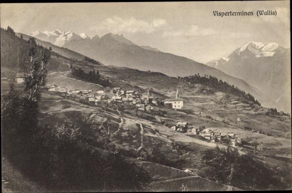 Ak Visperterminen Wallis, Panorama 0