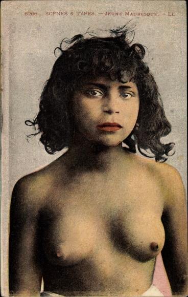 Ak Jeune Mauresque, Maghreb 0