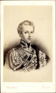 Carte de Visite Napoleon Franz Bonaparte, Duc de Reichstadt