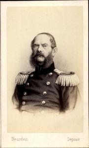 Carte de Visite Prinz Carl von Preußen