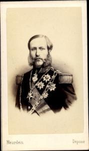Carte de Visite König Philipp von Belgien, Graf von Flandern